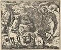 Renard Asks for Confession from Hendrick van Alcmar's Renard The Fox MET DP837713.jpg