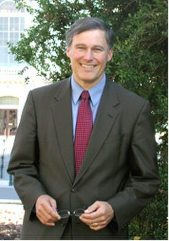 Jay Inslee - Early portrait of Inslee