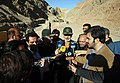 Reprters in Eghtedar-e Velayat War Game 02 by Tasnimnews.jpg