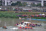 Rescue Team Searching Crashed B-22816 in Keelung River 20150204h.jpg