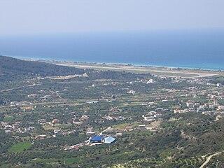 international airport serving Rodos, Greece