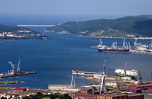 Rías Altas - The biggest city port of the Upper Rias is Ferrol
