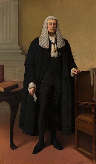 Richard Baker (Australian politician) - Parliament House portrait of Baker by Alexander Colquhoun, 1914