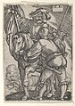 Riding Standard Bearer and a Foot Soldier MET DP834289.jpg