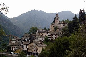 Rimella - The town