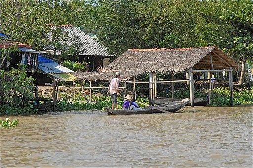 Rive du Bassac (île du Tigre, Vietnam) (6635499385)