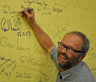 Robert Llewellyn - Robert Llewellyn at linux.conf.au (Canberra, Australia) in 2013