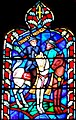 Robert Edward Lee in art at the Battle of Chancellorsville in a stained glass window of the Washington National Cathedral, from- Robert E Lee Stain Glass (cropped).JPG
