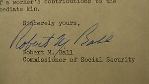 Robert M. Ball - Image: Robert M. Ball signature