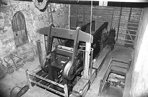 """South Crofty - Robinson's 80"""" engine, South Crofty Mine"""