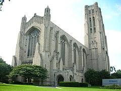 Rockefeller Chapel Entire Structure