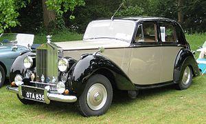 Edward G. Budd - Standard Steel Rolls-Royce Silver Dawn with Pressed Steel pressings 1953