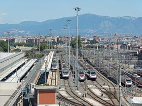 Image illustrative de l'article Gare de Rome-Tiburtina
