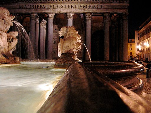 Roma-pantheonnotte2