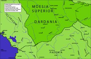 Municipium Dardanorum - Dardania in Moesia Superior