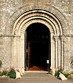Romanesque West Door, St. Mary's, Portchester - geograph.org.uk - 664532.jpg