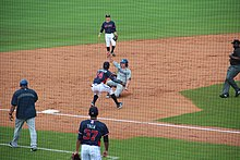 65a97b9f5 The Asheville Tourists in a game against the Rome Braves