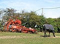 Root crop harvester parked in horse pasture - geograph.org.uk - 1541905.jpg