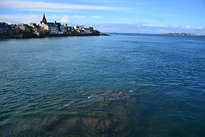 Roscoff - Image: Roscoff during high tide
