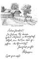 Roseggers Geburtshaus mit Faksimile (1895).png