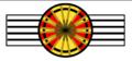 Rosette commandeur Mérite wallon.png