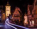 Rothenburg ob der Tauber Plönlein bei Nacht, 009.jpg