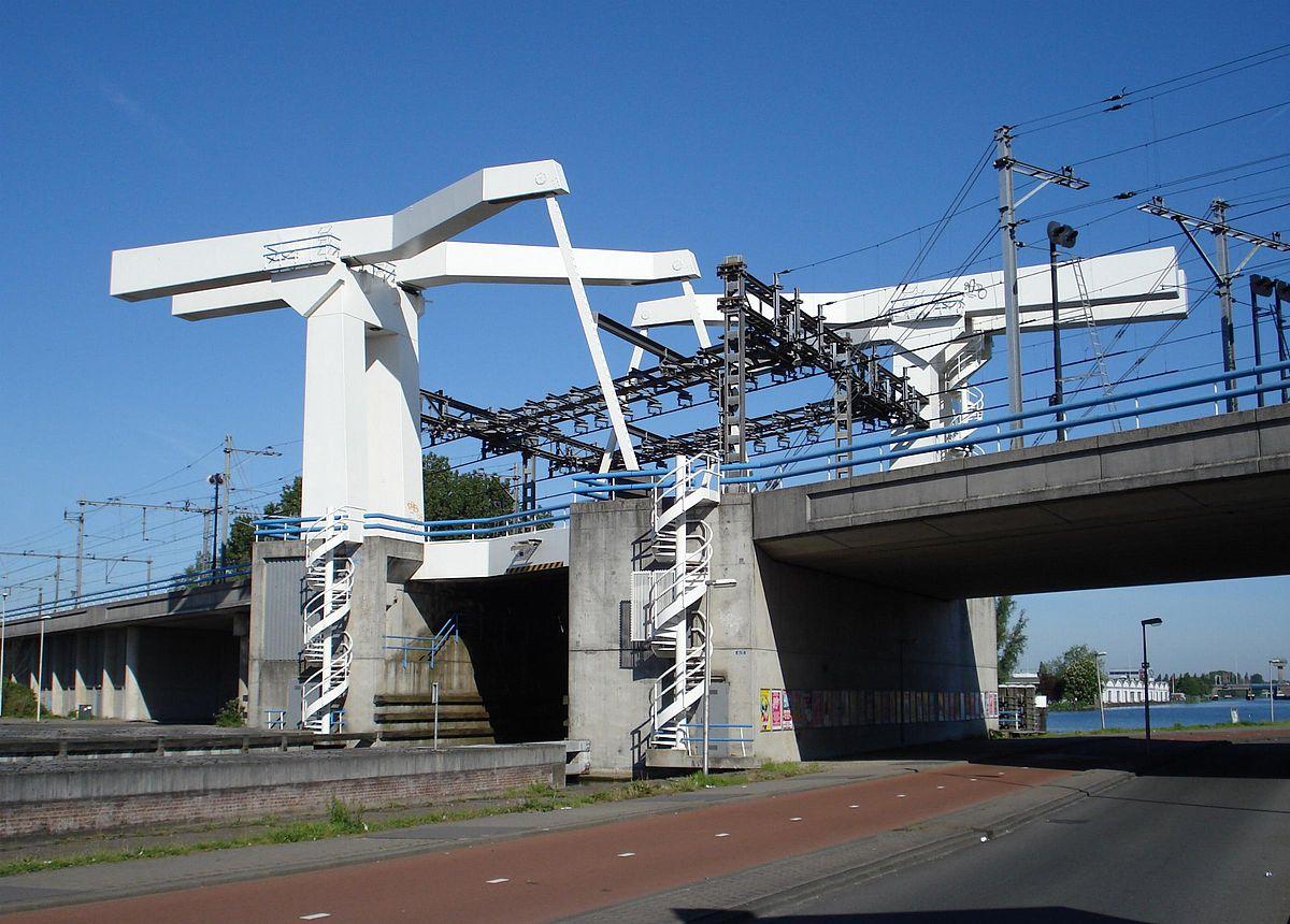 Spoorbrug Delfshavense Schie Wikipedia