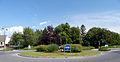Roundabout, Kottingbrunn, Friedhofsplatz.jpg
