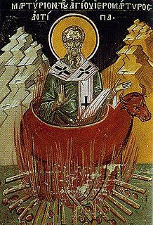 Antipas of Pergamum Bishop of Pergamon
