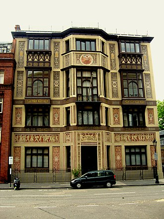 Royal College of Music - The National Training School for Music building, later home to the Royal College of Music (1883–94) and the Royal College of Organists (1903–91)