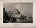 Royal Naval Hospital Greenwich; viewed from down river, with Wellcome V0013312.jpg