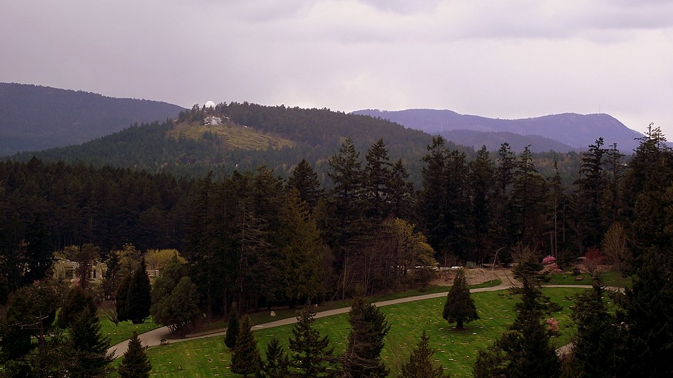 Royal Oak Burial Park and Little Saanich Mountain - panoramio