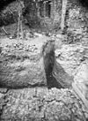 ruïne, ontgraving naar het zuid-westen - voorhout - 20245709 - rce