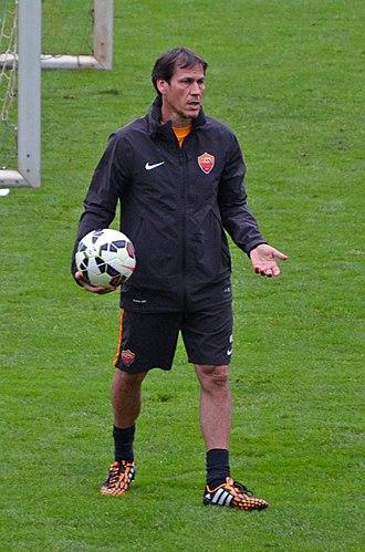 Rudi García - García managing Roma