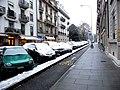 Rue Saint-Léger, snow in Geneva by Patrick Nouhailler.jpg