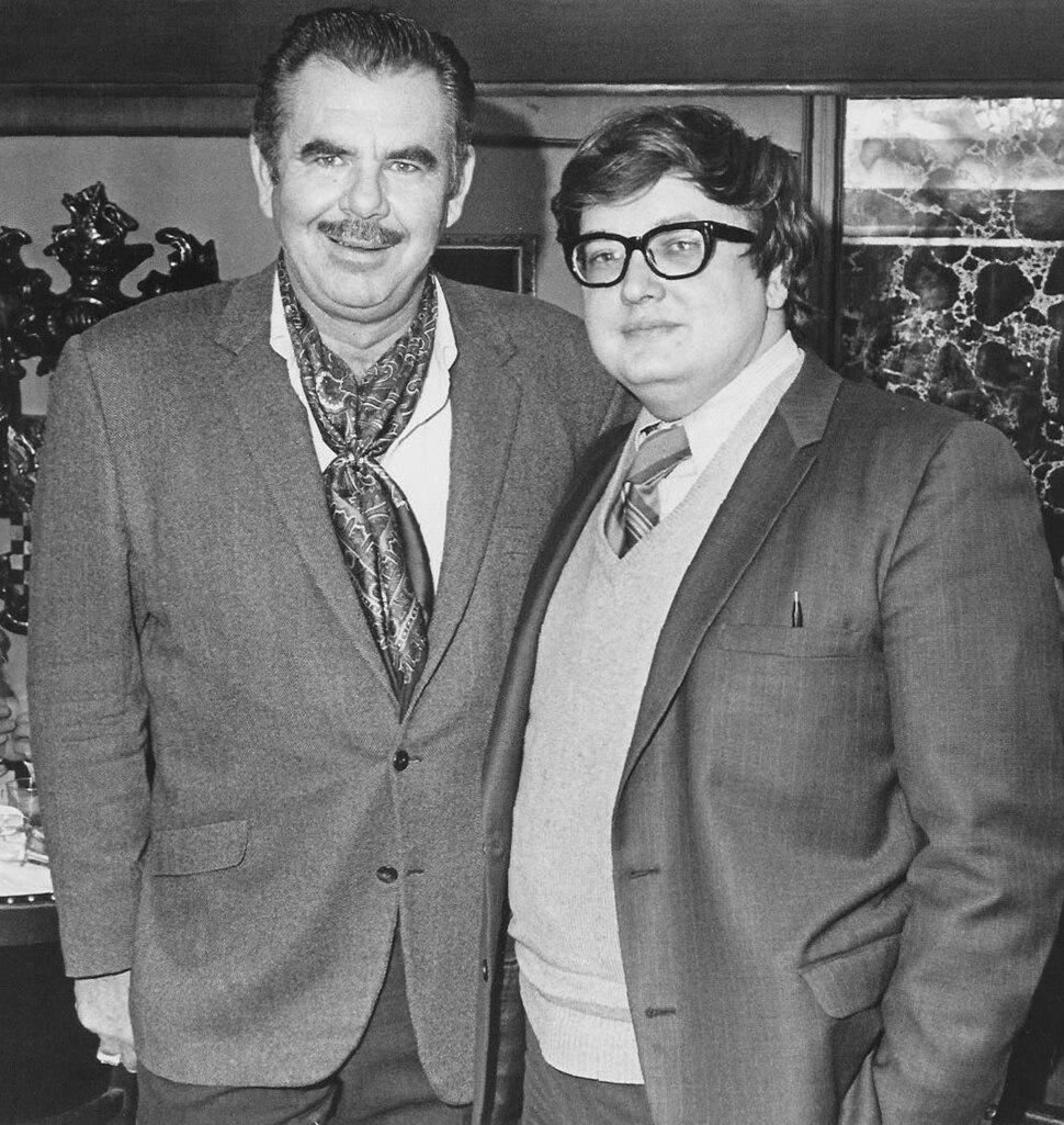 Russ Meyer and Roger Ebert by Roger Ebert