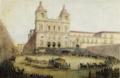 São Vicente de Fora (versão colorida de gravura de 1854, Manuel Maria Bordalo Pinheiro).png