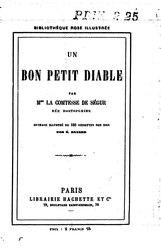 comtesse de Ségur: Un bon petit diable