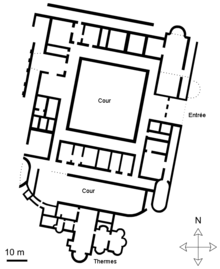 Plan Type Villa Gallo Romaine