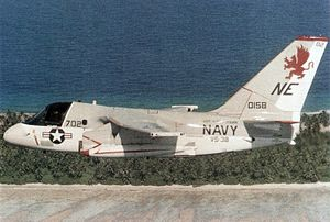 S-3A Viking VS-38 in flight 1984.jpg