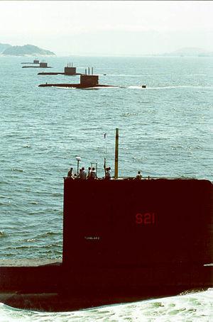Brazilian submarine Tonelero (S21) - Image: S21 Submarino Toneleiro