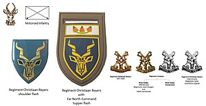 Regiment Christiaan Beyers - SADF era Regiment Christiaan Beyers insignia