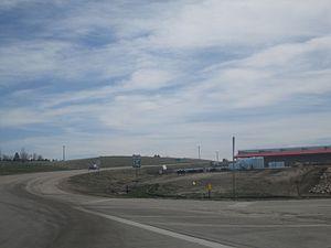 South Dakota Highway 34 - SD 34 in Belle Fourche