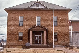 Searcy County, Arkansas - Image: SEARCY COUNTY COURTHOUSE
