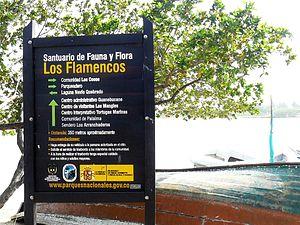 Los Flamencos Sanctuary - Image: SFF Los Flamencos 2