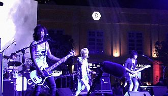 Sid (band) - SID performing in Singapore (2013)