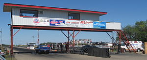 Saskatchewan International Raceway - Image: SIR tower