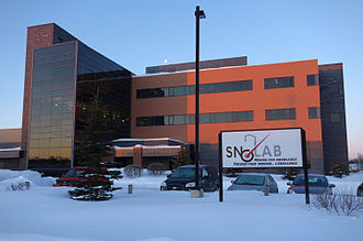 SNOLAB - SNOLAB surface building.  It is connected to the underground laboratory by narrow-gauge railway.