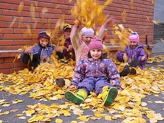 SOS Children's Villages - Children at SOS Children's Village in Kandalaksha, Russia
