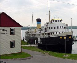 The SS Norisle at the Manitowaning Heritage Complex
